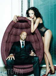 Common & Selita Ebanks For UPTOWN Magazine Aug - Sept 2014 Issue 2