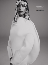 Erykah Badu Goes Retro For In Style Magazine September 2014 Issue 3
