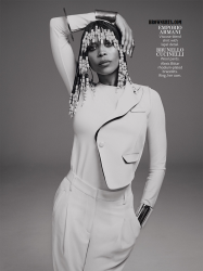 Erykah Badu Goes Retro For In Style Magazine September 2014 Issue 5