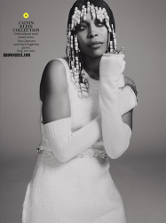 Erykah Badu Goes Retro For In Style Magazine September 2014 Issue 7