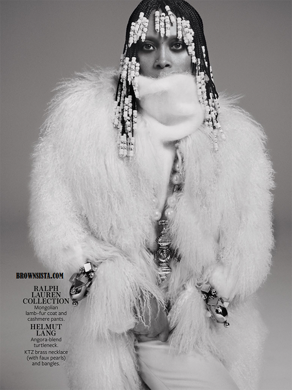 Erykah Badu Goes Retro For In Style Magazine September 2014 Issue