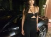 Gabrielle Union Instagrams Pre - Wedding Black Jumpsuit