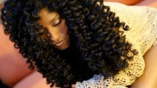 How To Get Achieve The Perfect Flexi Rod Set On Natural Hair