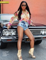Keke Palmer For Bombshell Magazine 2