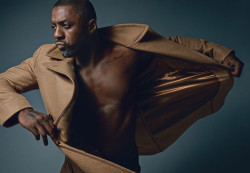 Man Candy Alert! - Idris Elba Covers DETAILS Magazine For September 2014 2