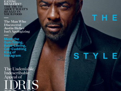 Man Candy Alert! - Idris Elba Covers DETAILS Magazine For September 2014