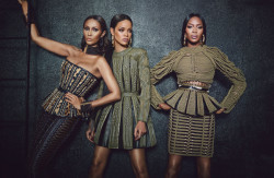 Rihanna, Iman, and Naomi Campbell Featured In W Magazine September 2014 2