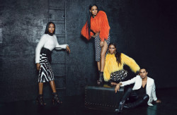 Rihanna, Iman, and Naomi Campbell Featured In W Magazine September 2014 3