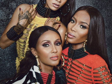 Rihanna, Iman, and Naomi Campbell Featured In W Magazine September 2014