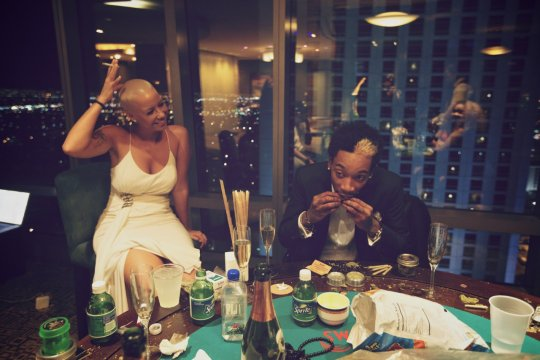 Snapshot - Wiz Khalifa & Amber Rose Show Off First Official Wedding Photos 2