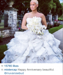 Snapshot - Wiz Khalifa & Amber Rose Show Off First Official Wedding Photos 5