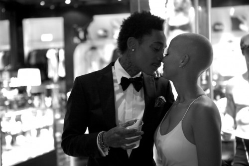 Snapshot - Wiz Khalifa & Amber Rose Show Off First Official Wedding Photos 8