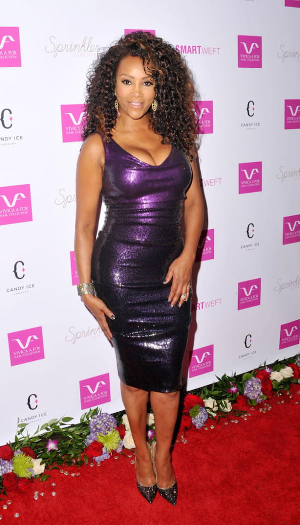 Celebrity Style Vivica A Fox Looks Sexy At 50th B Day