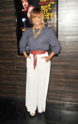Elise Neal at Vivica's 50th Birthday Party at Philippe Chow in Beverly Hills