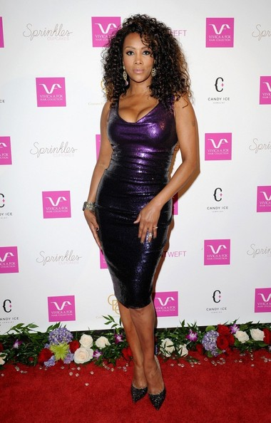celebrity style � vivica a fox looks sexy at 50th bday