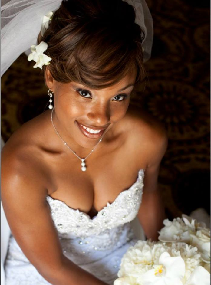 2015 Wedding Hairstyles for Black Women 11