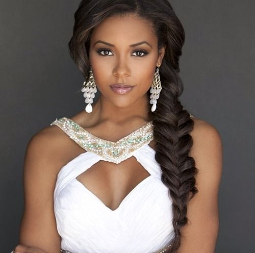 2015 Wedding Hairstyles for Black Women 14