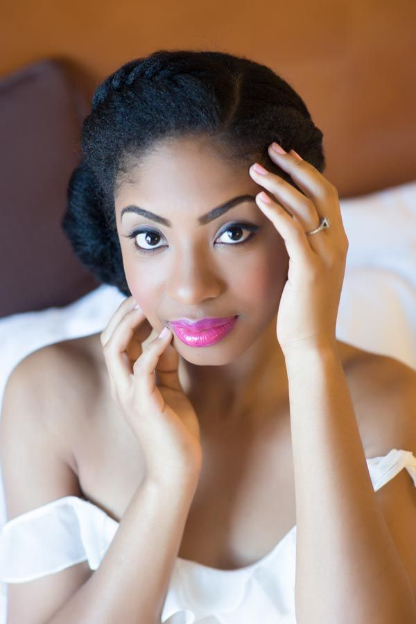 2015 Wedding Hairstyles for Black Women 17