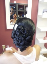 2015 Wedding Hairstyles for Black Women 18