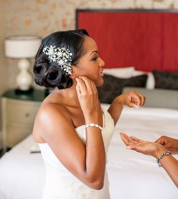 2015 Wedding Hairstyles for Black Women 19
