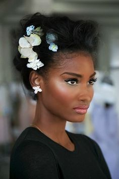 2015 Wedding Hairstyles for Black Women 20
