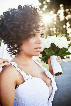 2015 Wedding Hairstyles for Black Women 22