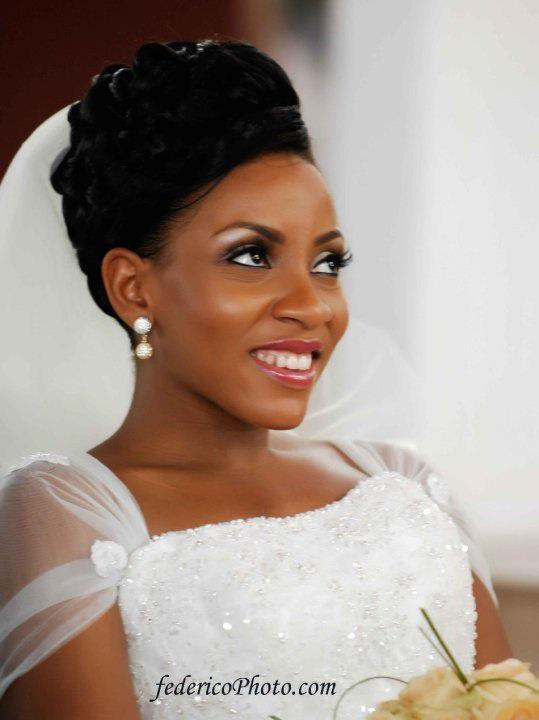 2015 Wedding Hairstyles for Black Women 7