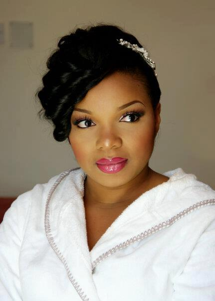 2015 Wedding Hairstyles for Black Women 8