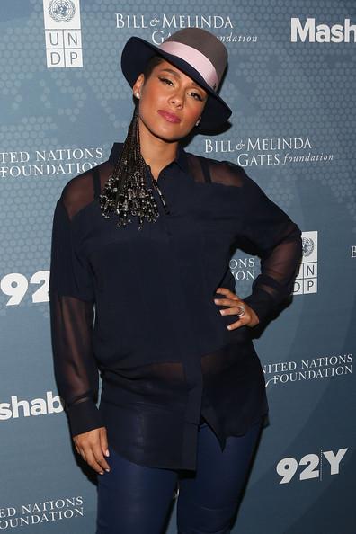Alicia Keys' Pregnancy Style 3