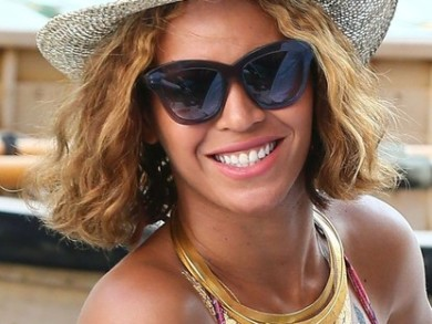 Beyonce is Back To Rocking A Bob!  9