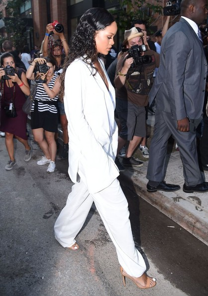 Celebrity Style - Celebs Hit Up #NYFW Spring - Summer 2015 16