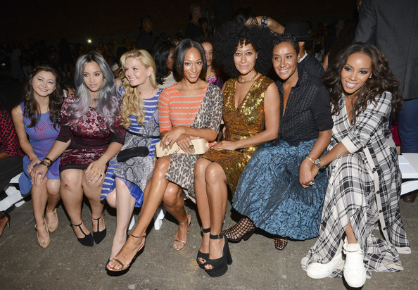 Celebrity Style - Celebs Hit Up #NYFW Spring - Summer 2015 22