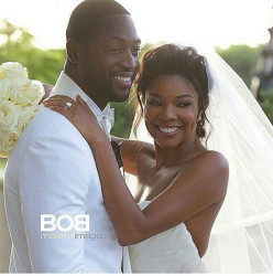 Gabrielle Union Stuns In Dennis Basso for Kleinfeld Wedding Gown 3