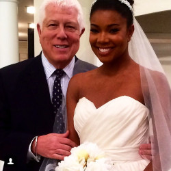 Gabrielle Union Stuns In Dennis Basso for Kleinfeld Wedding Gown 4