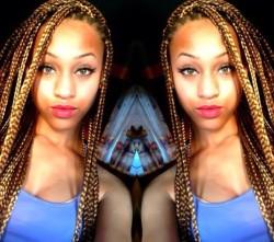 Hair Trends For Black Women - 5 Unique Box Braid Hair Color Variations 3