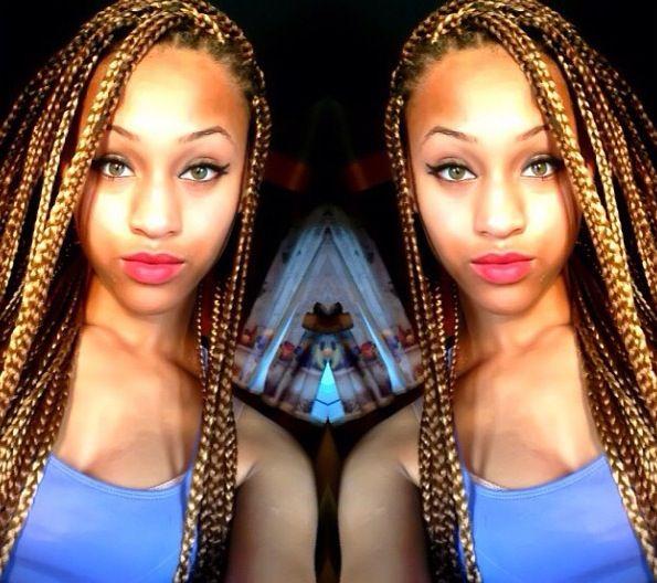 Hair Trends For Black Women - 5 Unique Box Braid Hair Color Variations ...