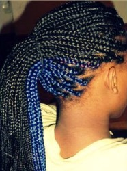 Hair Trends For Black Women - 5 Unique Box Braid Hair Color Variations 4