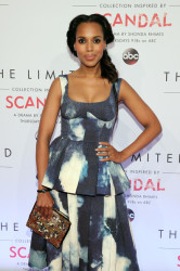 Kerry Washington Makes Scandal Media Runs Looking Fabulous 6