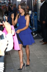 Kerry Washington Makes Scandal Media Runs Looking Fabulous 7