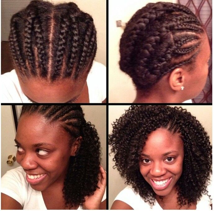 ... out crochet weave, the latest method for adding weave to your hair