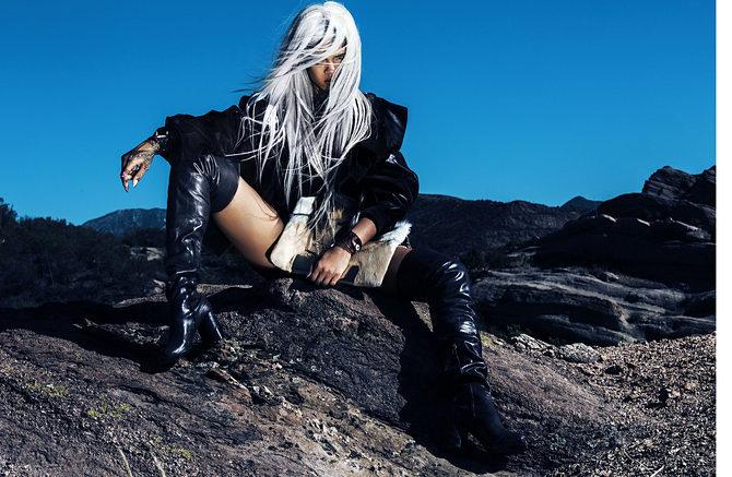 Rihanna Shows Off Fierce New Look In Tush Magazine 2
