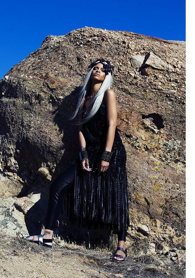 Rihanna Shows Off Fierce New Look In Tush Magazine 3