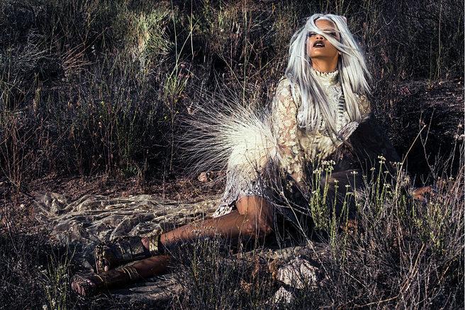 Rihanna Shows Off Fierce New Look In Tush Magazine 5