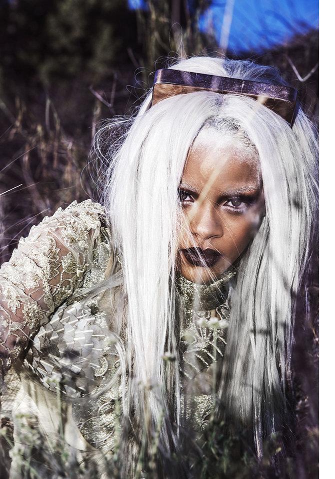 Rihanna Shows Off Fierce New Look In Tush Magazine 6