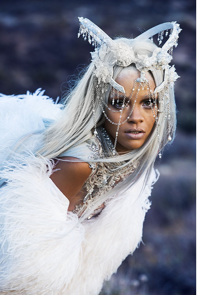 Rihanna Shows Off Fierce New Look In Tush Magazine