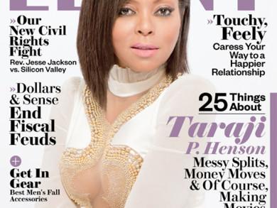 Taraji P. Henson Featured In Ebony Magazine For October 2014 Issue