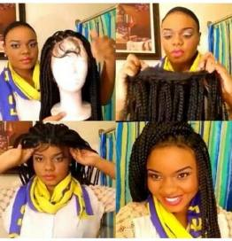 Would You Wear An Individual Braided Lace Front Wig