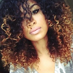 ombre natural hair 2