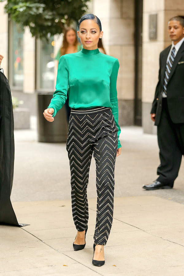 Nicole Richie is Candidly Chic