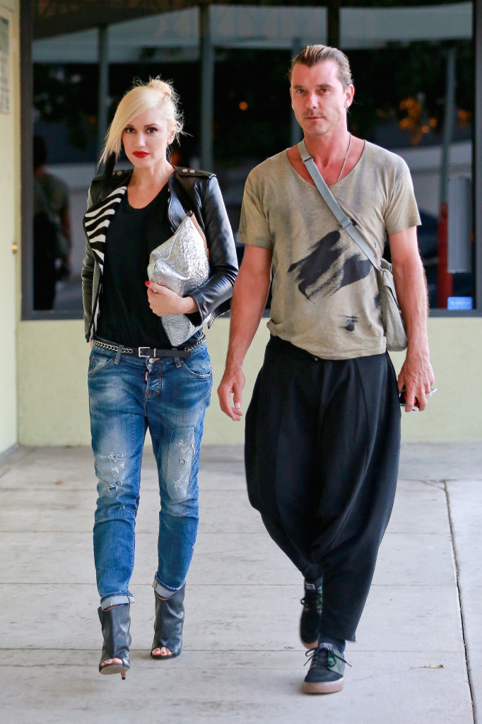 *EXCLUSIVE* Gwen Stefani and Gavin Rossdale attend a private event